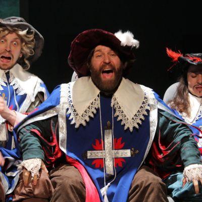 Foto från 3 musketeers - East of Vienna.