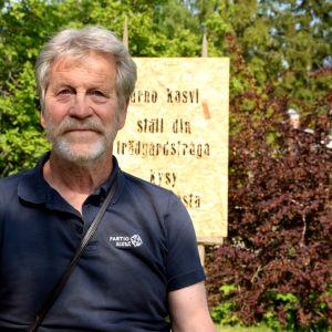 Arno Kasvi på Strömsö