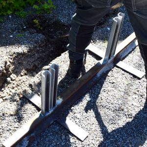 Metallkonstruktion.