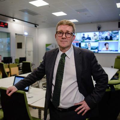 Pasi Penttinen, expert vid Europeiska smittskyddsmyndigheten (ECDC)