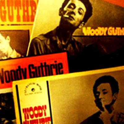 Woody Guthrien levykansia.