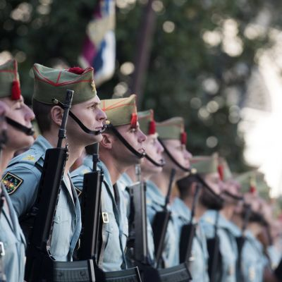 Espanjan legioonalaisia muistopäivässä