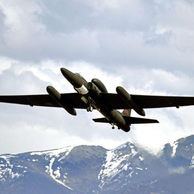 Yhdysvaltojen U-2 -vakoilukone sotaharjoituksissa Alaskassa Yhdysvalloissa.