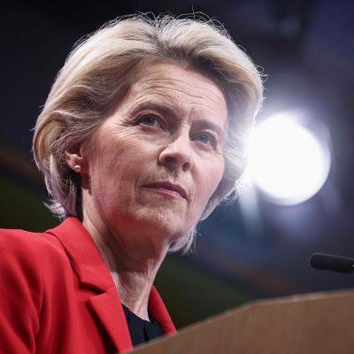 EU-komission puheenjohtaja Ursula von der Leyen