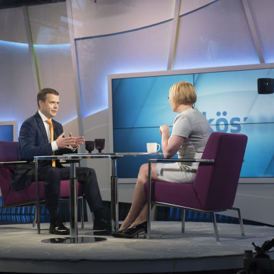 Petteri Orpo intervjuades i Yle-programmet Morgonettan den 29 april 2017.