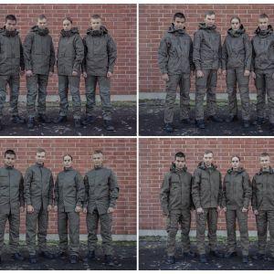 Pohjoismaissa testattavia puolustusvoimien tulevia taisteluasuja.