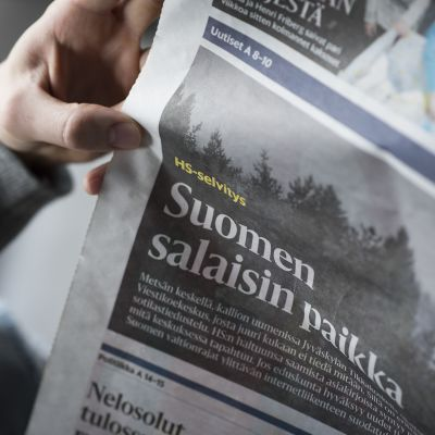 Hensingin Sanomien artikkeli.
