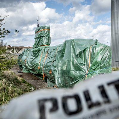 Sukellusvene UC3 Nautilus on tuomioistuimen päätöksellä takavarikoitu.