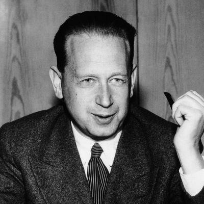 Dag Hammarskjöld.