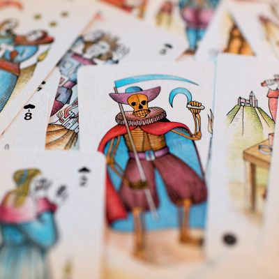 tarotkortteja jossa viikatemies