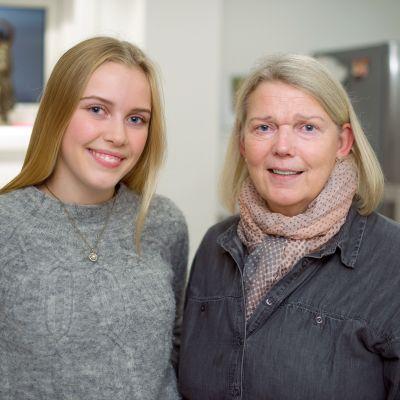 Ruth ja Hanne Kristensen