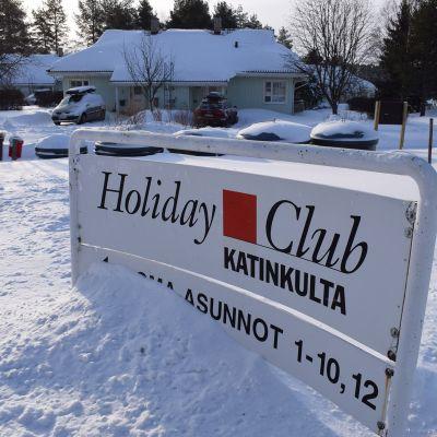 Holiday Club Katinkullan majoitustiloja Vuokatissa.