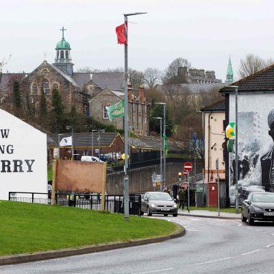 Bogsiden alue Derryssä, Pohjois-Irlannissa.