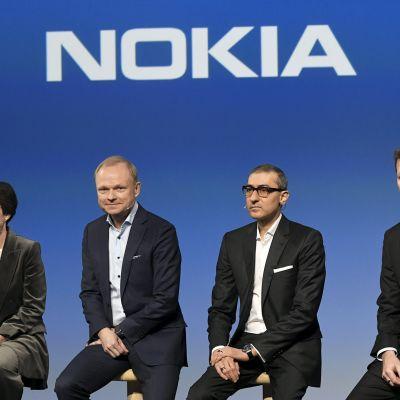 Nokian tiedotustilaisuus - toimitusjohtaja vaihtuu