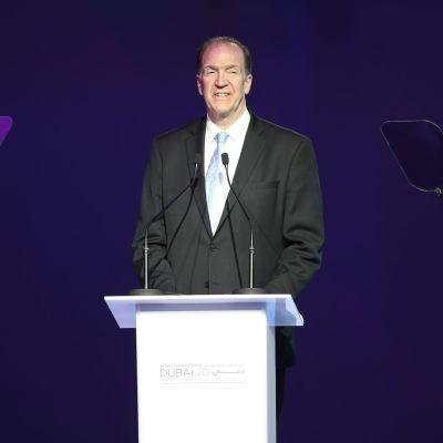 Maailmanpankin johtaja David Malpass