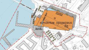 Nu görs planeprocessen om med ett lite förändrat förslag av köpcenterbygget i Norra hamnen.