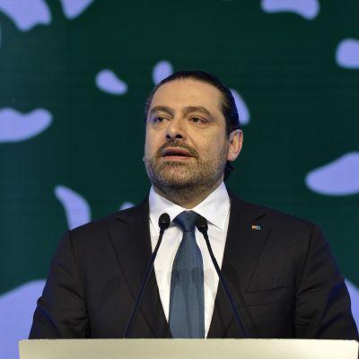 Libanonin pääministeri Saad Hariri