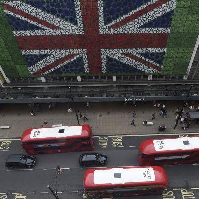 Britannia brexit lontoo lippu.