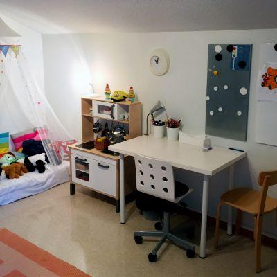 Leikkihuone Tampereen ensi- ja turvakodissa