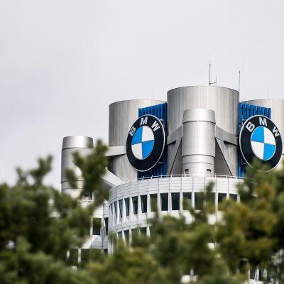 BMW:n pääkonttori Münchenissä.