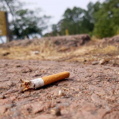 tupakantumppi kalliolla
