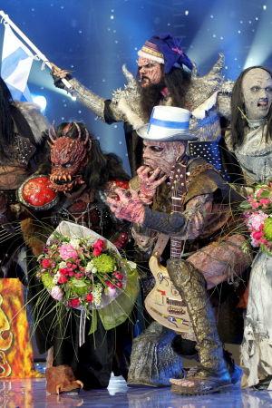 Lordi vann Eurovisionen år 2006.