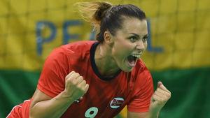 Nora Mork, Norge-Brasilien, OS 2016.