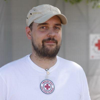 Andreas von Weissenberg, Finlands Röda Kors