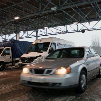 Niiralan raja-asema Pohjois-Karjalassa.
