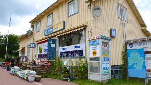 Bybutik på Vårdö på Åland