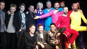 Gruppbild från Eurovision 2014