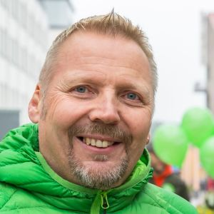 Vihreiden puheenjohtajana Lapissa 2019-2021 toiminut Timo Törmänen