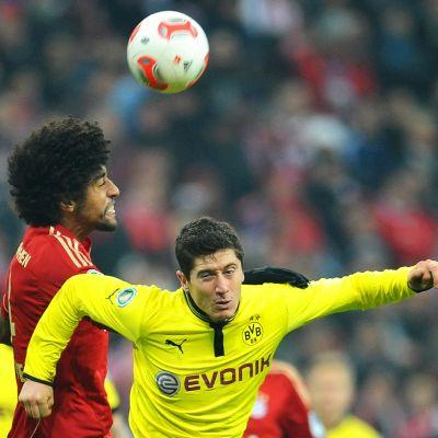 Dante och Robert Lewandowski möts i Champions League-finalen.