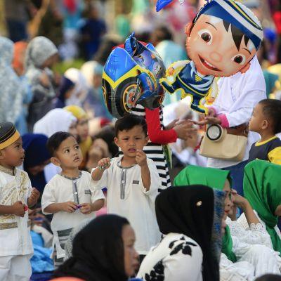 Al-Fitrin juhlintaa.