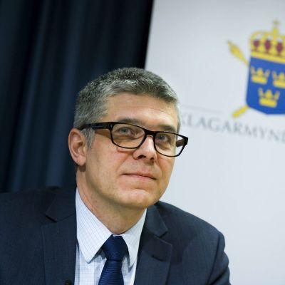 Ruotsin uusi poliisiylijohtaja Anders Thornberg