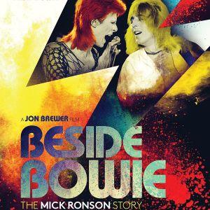 Beside Bowie -dokumenttielokuvan juliste.
