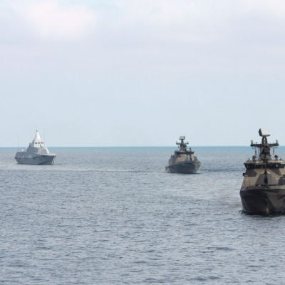 Militärövningen Northern Coasts 2017.