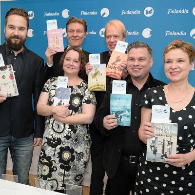 Kirjallisuuden Finlandia -palkintoehdokkaat.