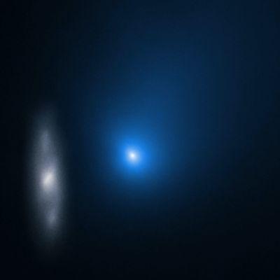 Borisovin komeetta ja kierregalaksi