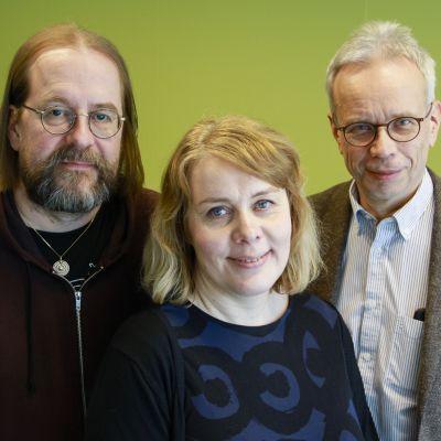 Kuvassa Samuli Repo  Anni Kallio ja Mikko Nupponen