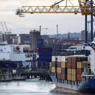 Belfastin satama.