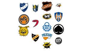 Logogalleri på de 15 lagen 2016-2017.