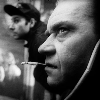 Stepan Maurits ja Tõnu Kark elokuvassa Tallinnan pimeys.