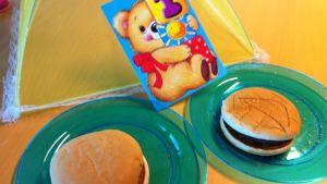 1. vuotiaat hampurilaiset