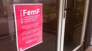 Feministiskt Forum i Helsingfors 2014