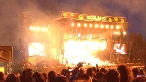 Rammstein live i Vanda 9.6. 2017