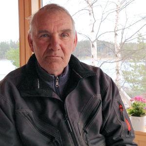 Fiskare Martin Tillman på Pellinge i Borgå.