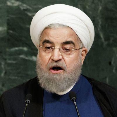 Iranin presidentti Hassan Rouhani