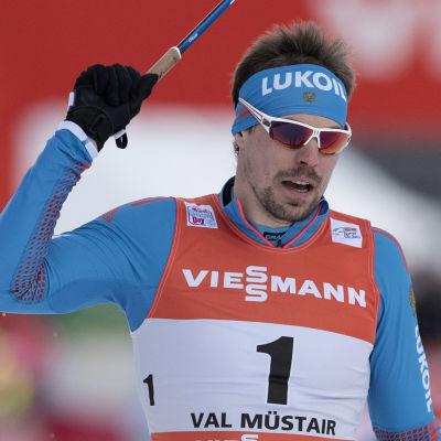 Sergei Ustiugov var nummer ett på nytt.