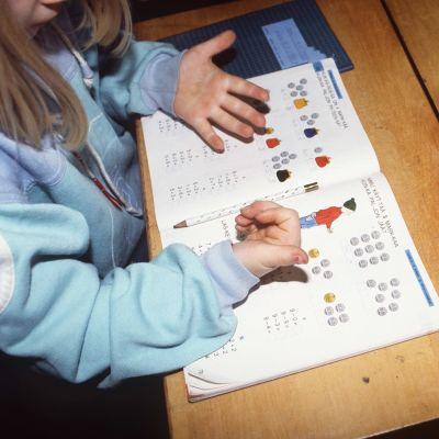 Bild av ett skolbarn